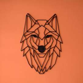 Wal art or metal art wolf design
