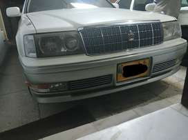 Toyota crown headlights HID projectors and parking lights