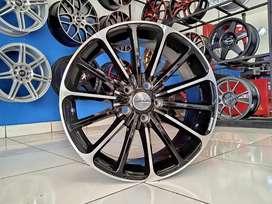 Ready velg AMW Wald ring 18x8 Pcd 5x114.3 et 40 Innova Civic Xpander