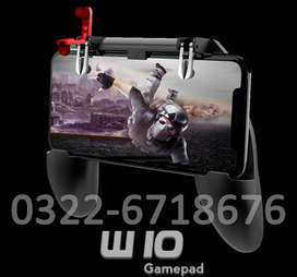 W10 Mobile Game Controller Fortnited Free Fire PUGB Gaming Pad ak66 d9