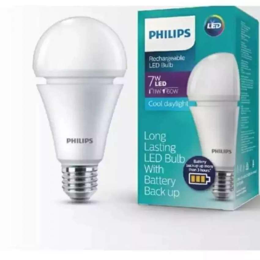 Lampu emergency Philips 7 watt 0