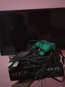 PS2 Sony with hardisk