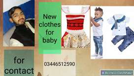 New clothes of children