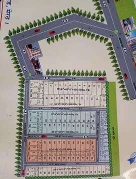 100 yds plot available 4 sale in Ved kunj