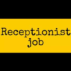 Receptionist (Front office executive) hiring