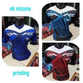 Kaos badminton lining victor yonex bhn printing