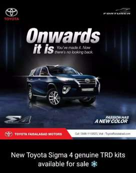New modal Fortuner sigma 2020 Available Trd kit modal