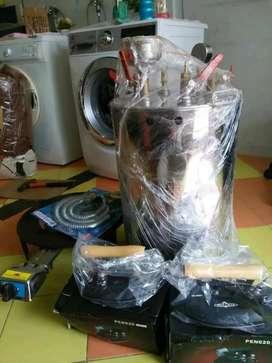Setrika uap gas Mojokerto Jombang Mojosari
