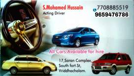 Acting Driver & Car Rent