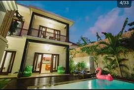 Villa disewakan hanya bulanan saja di jln. bidadari seminyak