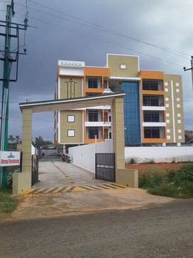 READY TO MOVE 2 BHK FLAT FOR SALE NEAR MES PHARMACY COLLAGE