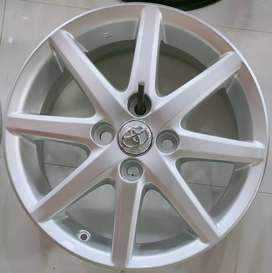 Aqua Genuine Alloy Wheels 15""