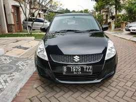 Suzuki Swift 1.4L GL Manual 2012 Hitam Kilometer Antik