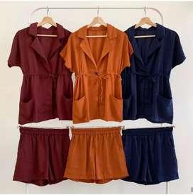 Baju X4 - Set Merina