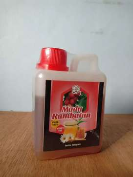 Madu Rambutan 100% Murni 500 gram