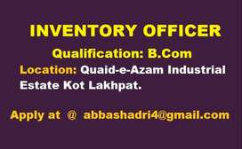 Inventory Officer