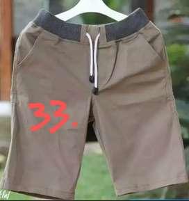 Celana Pendek Chinos model Pinggang Kolor