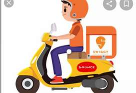 @Hiring for swiggy food delivery boys at secunderabad@