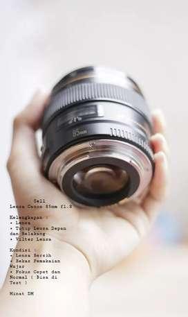 Jual Lensa Canon 85mm f1.8 USM | NegoGuys