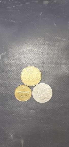Uang koin kuno untuk koleksi di jual mumer aja