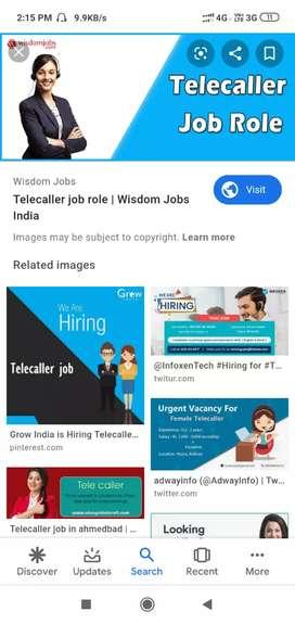 Job in telecalling bissness development