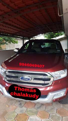 Ford Endeavour 2.2 Trend Automatic 4x2, 2016, Diesel