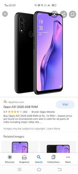 Oppo a31 4gb ram 64gb internal with original charger 13month old