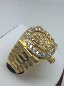 Cincin Rolex Men Bahan 18K gold Diamonds