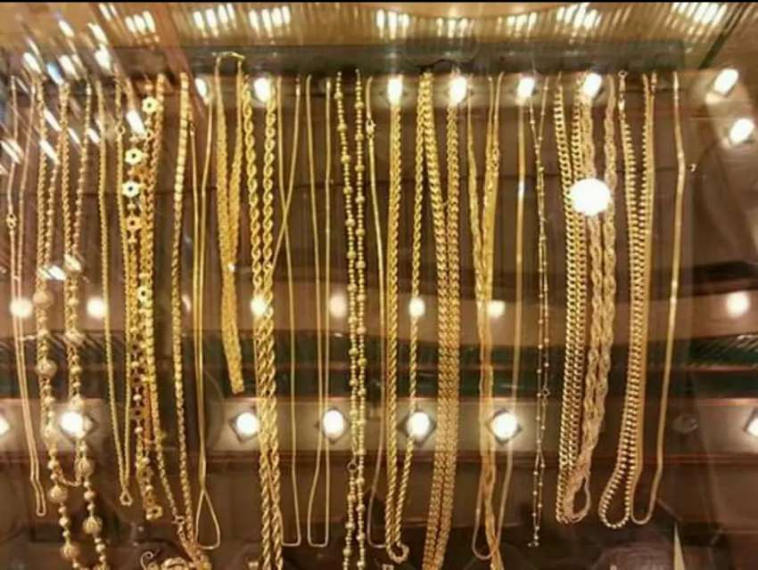 Gold Chain For Girls