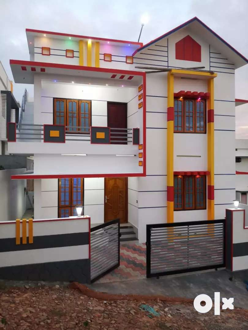 Beautiful new house Broker excuse trivandrum Malayinkeezhu 0