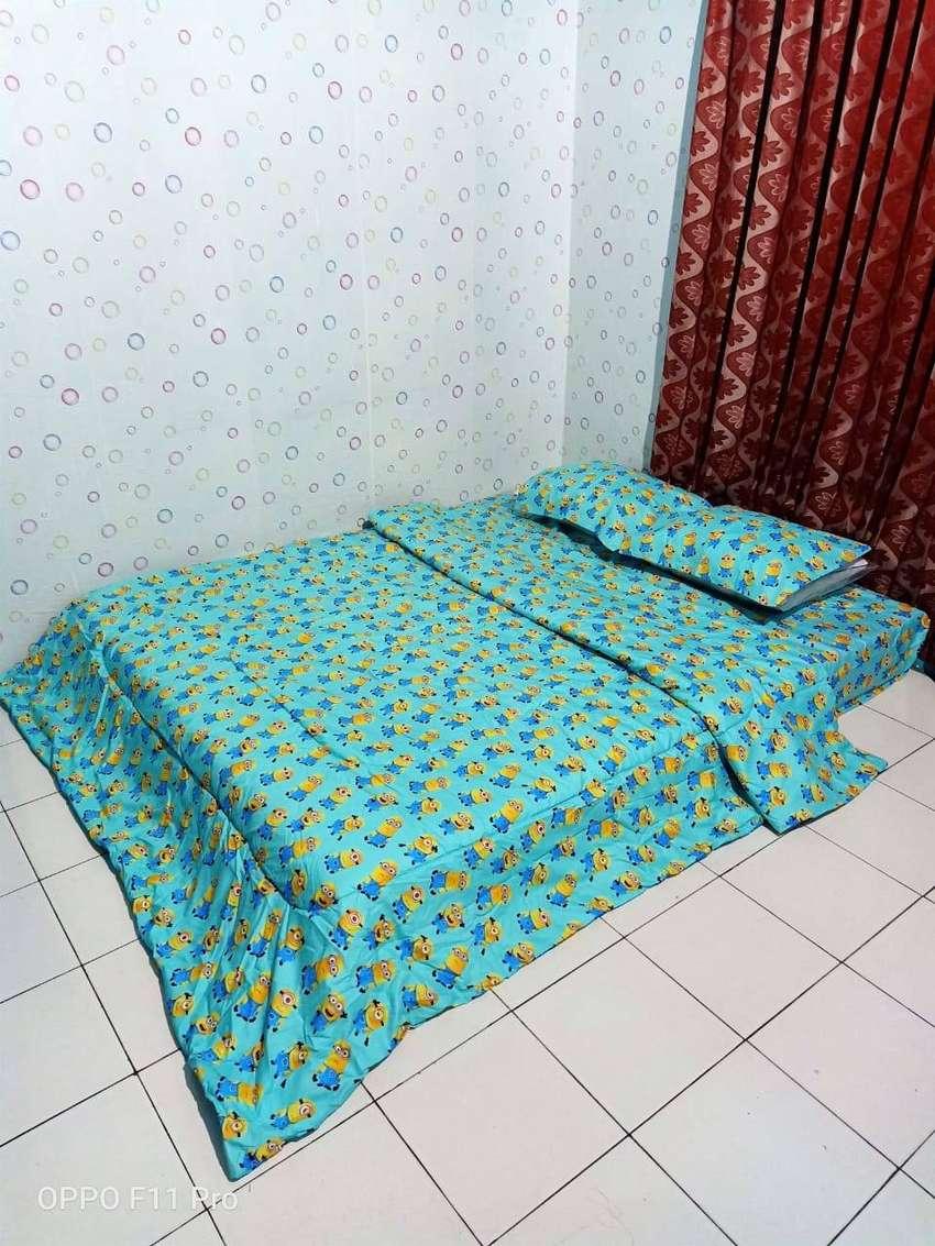 Toko Online Bed Cover Berbagai Motif Kirim Kirim Tana Tidung 0