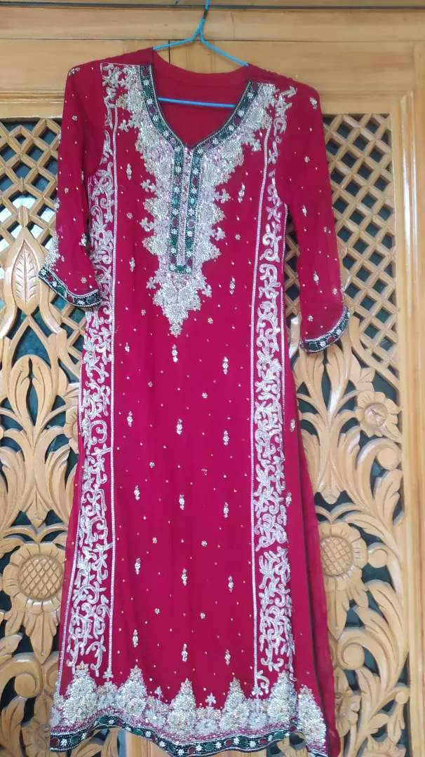 Beautiful wedding dress lengha for sale