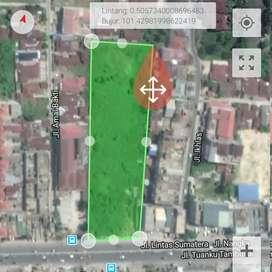 Tanah kosong (10.000 m2) dijual pusat kota Pekanbaru, Riau