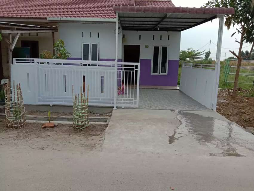 BU Rumah Minimalis Cantik jalan Aspal