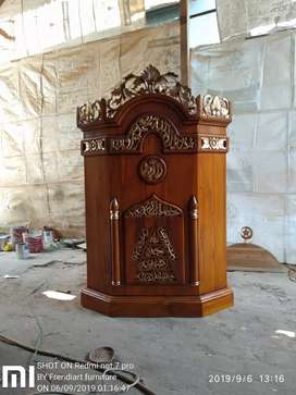 Mimbar masjid jamaah