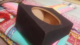 """12"""" woofer size lasani wooden box like new for sale"""