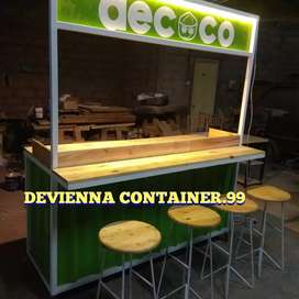 Container cafe Container coffebar Container custom booth Container,
