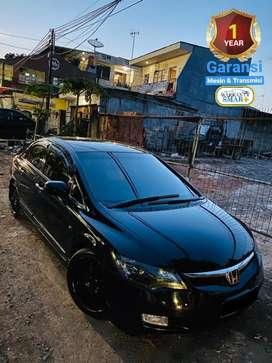 Honda Civic FD/Batman Matic,Garansi,Keyless,VR18,LampuHid,Mulus,BisaTT