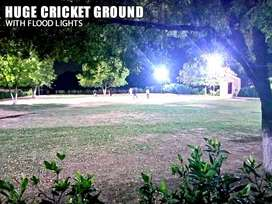 Luxury Farmhouse in Karachi with Cricket Ground