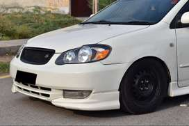 Body kits in 2 pcs new Design  For corolla 2004 to 2007