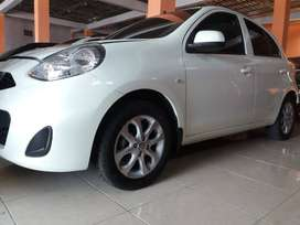 Nissan March Type 1,3 Tahun 2017, Manual. Putih.