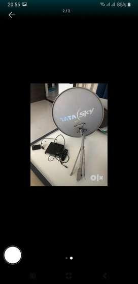 Tata sky dish and setup box