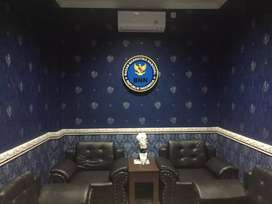 Jasa pemasangan wallpaper dinding