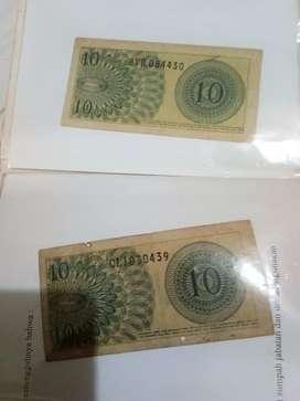 Uang kertas kuno dimasa orla