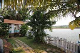 Vasthu based river facing balcony villa for sale, 80% home loan