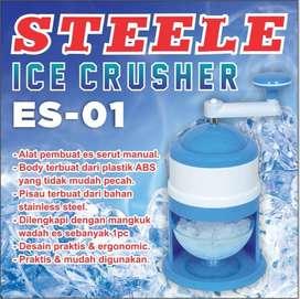 Blender Alat Serut Penghancur Es Kepal Manual STEELE ES-01 Ice Crusher