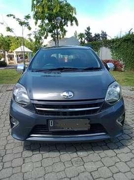 Toyota Agya matic type G 2015 mulus, siap pakai