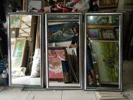 Kaca cermin 98 x 48 cm