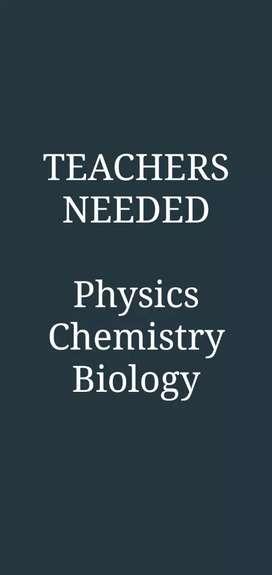 Physics Chemistry Teachers