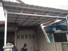 Kanopi dan atap rumah baja ringan !! Kami ahlinya